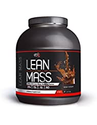 LEAN MASS Weight Gainer Protein Powder Muscle Building Sports Nutriton Supplement by Pure Nutrition USA (Double Chocolate, 2.720kg)