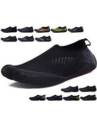 SINOES Zapatos de Agua de Playa Zapatos Deportivos Mujer Pareja Deportes  Aire Libre Calzado de Deportes acuáticos de Ocio Calcetines Descalzos… edf9a4d1bf7