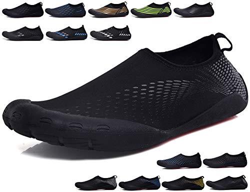 SINOES Zapatos de Agua Unisex Zapatos de Piel descalza para Run Dive Surf Swim Beach Yoga