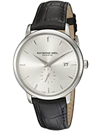 Raymond Weil Men's 5484-STC-65001 Analog Display Quartz Black Watch