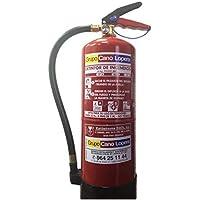 Extintor polvo 6 Kg. EFICACIA 27A/183B para oficina, casa, industria. cumple normativa RIPCI/CTE/NBE