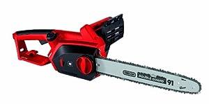 Einhell GH-EC 2040 2000 W Tool Less Electric Chainsaw with 40 cm Oregon Bar - Black, Red