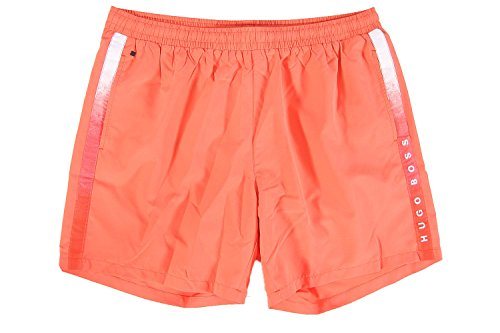 BOSS Hugo Boss Herren Badeshorts Seabream Light/Pastel Red (633)