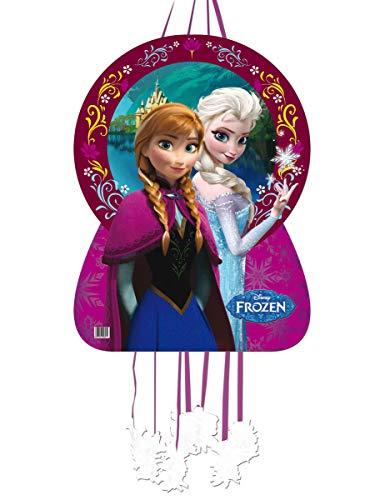 KULTFAKTOR GmbH Frozen-Piñata Anna und ELSA Partydeko bunt 46x65cm Einheitsgröße