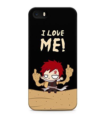 Naruto Little Selfish Gaara Hard Plastic Snap On Back Case Cover For iPhone 5 / 5s Custodia