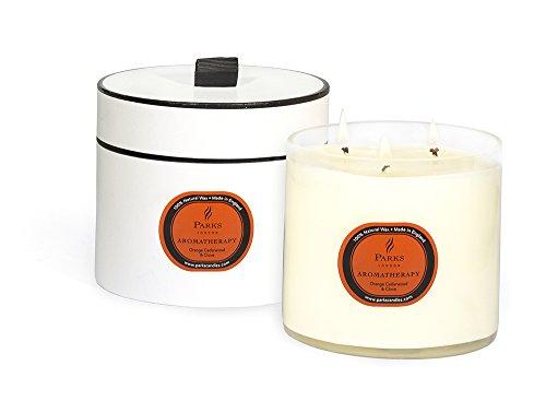 Parks London Aromatherapy Three Wick Candle - Orange, Cedarwood & Clove