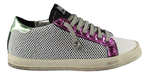 P448 , Baskets pour femme multicolore Mehrfarbig Weiß