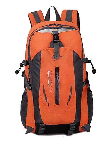 ZQ 30 L Tourenrucksäcke/Rucksack / Travel Organizer Legere Sport Draußen Wasserdicht / Schnell abtrocknend / tragbar / Atmungsaktiv andere Orange