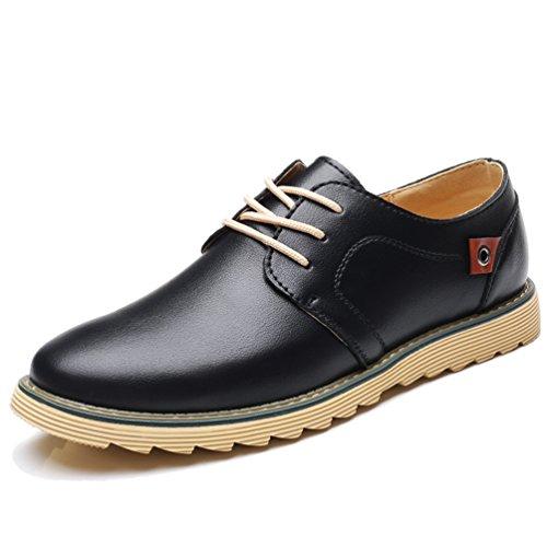 XIGUAFR Chaussure de Ville Pour Homme de Grande Taille en Mode Coréenne Britannique Chaussure Casual