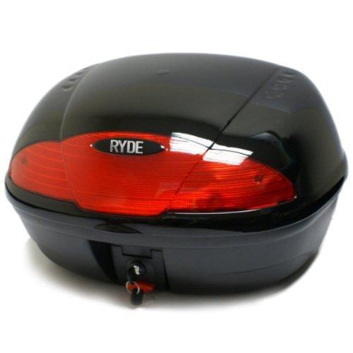 Ryde Motorradkoffer Topcase für 2 Helme - Schwarz - 51 Liter