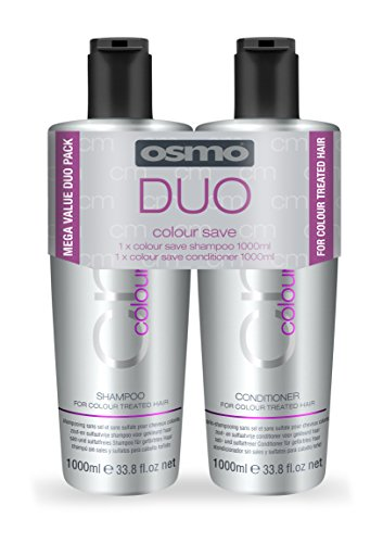 OSMO Colour Save Shampoo 1 Litre/Conditioner  1 Litre