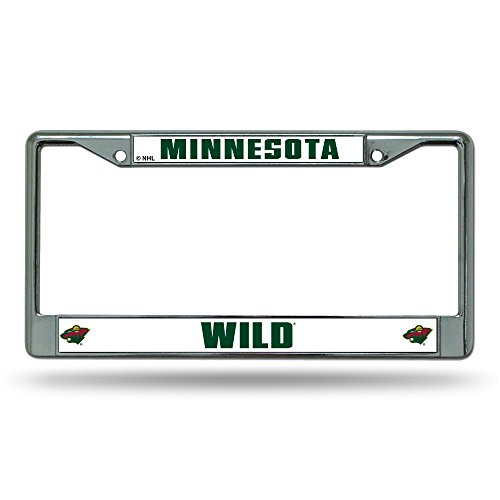Rico NHL Chromrahmen, Minnesota Wild, Einheitsgröße -