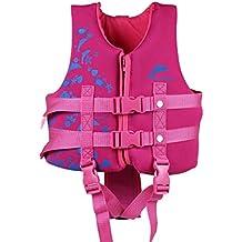 IvyH Chaleco de natación para niños - Niños Chaleco de Chaqueta Flotante Chaleco de natación Flotante