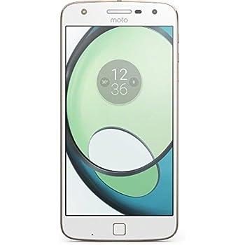 """Moto Z Play - Smartphone de 5,5"""" (3 GB de RAM, 32 GB, cámara de 5 MP, Android 6.0.1), blanco"""