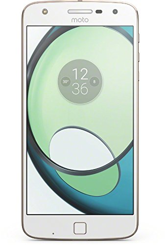 Lenovo Moto Z Play Smarthphone da 5.5' Full HD AMOLED, 3GB RAM, 32 GB ROM, Snapdragon 625 Octa-core 2 GHz, 4G, Camera da 16MP, Android 6, Bianco/Oro