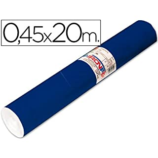 Adhesive Roll Aironfix Unicolour Blue Matte Dark 67150-20m Roll