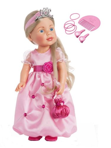 Zapf Creation 909126 - Nelli dreams Puppe, Prinzessin, pink