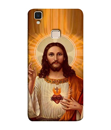 PrintVisa Designer Back Case Cover for VivoV3 (jesus christ son of marium)