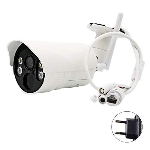 DonLucancy Drahtlose Kamera Intelligente Multifunktionen Benutzerfreundlich Einfach Einrichten Installation Bewegungserkennung Alarm Full HD Aluminiumgehäuse Wasserdicht