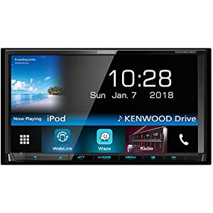 Kenwood DMX-6018BT Monitore, Nero