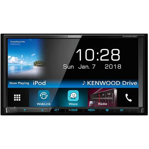 Kenwood Electronics DMX6018BT Bluetooth Negro Receptor Multimedia para Coche - Radio para Coche (Negro, 2 DIN, 50 W, WMV, BMP,JPEG,PNS, MKV,MPEG1,MPEG2,MPEG4)