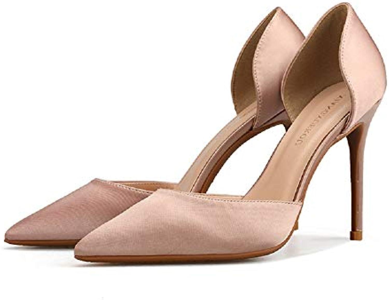 Fuxitoggo Pompes Sexy Femmes Grande Taille Chaussures de Mariage de de de Bureau à Talons Hauts (coloré : Beige, Taille...B07H8B7WG7Parent | De La Mode  | Matériaux De Haute Qualité  44a163