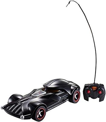 Mattel Hot Wheels FBW75 - Star Wars Darth Vader RC Fahrzeug mit Lights und Sounds inklusive Fernsteuerung von Mattel