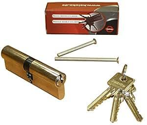 35x60, cylindre de sécurité double entrée, 6 goupilles, 5 clés, VE=1