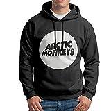 Photo de Men's Arctic Monkey Leisure Fashion Hoodie Hooded Sweatshirt Black par jlhujutm