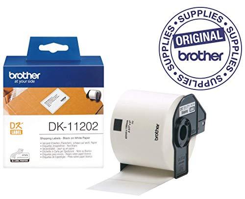 Brother DK11202 - Etiquetas precortadas envíos papel
