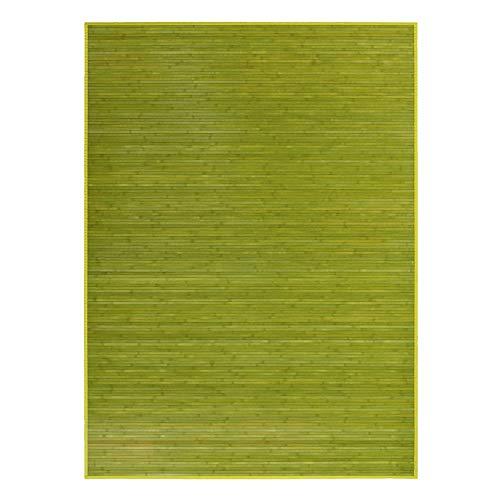 Hogar y Mas Alfombra DE Bambu Natural, para Salon - Comedor, Moderna Y Practica EN Color Verde, 180 X 250 CM.