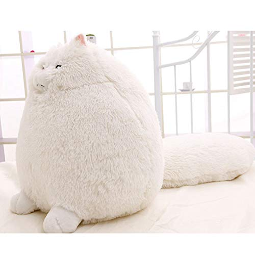 CGDZ Fettes Haustier-Katzen-persisches Katzen-Plüsch-Spielzeug 30/50 cm Pembroke-Kissen-Plüschtiere Hochwertiges weiches angefülltes Kindergeschenk 30cm (Große Giraffe-kissen-haustier)