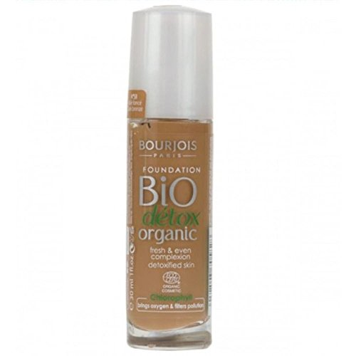 Bourjois - Bio Detox Organic Foundation - Fond de Teint - N°58 Dark Bronze - 30ml