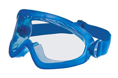 Dräger Schutzbrille X-pect 8515 | Staubdichte beschlagfreie Vollsichtschutzbrille | Für Baustelle, Labor, Werkstatt | Kratzfeste Acetatscheibe für hohe chemische Beständigkeit | 6 St.