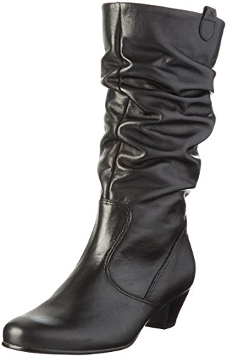 Gabor Shoes 56.072, Stivali Alti Donna, Nero (schwarz (Micro) 57), 43 EU