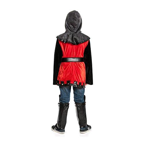 Kostümplanet® Ritter Kostüm Kinderkostüm Ritter Größe 116 - 4