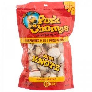 PORK CHOMPS MINI BACON (Pet Products Scott Inc)