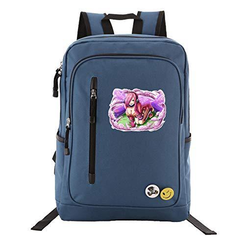 JJJDD One Piece Backpack Junge Studentin Tasche Computer Tasche Outdoor Reisetasche @ C-hellblau (C Abschnitt Kostüm)