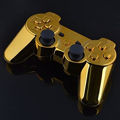Playstation 3 Controller - Chrome Gold with Gold Buttons