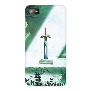 Enticing Sword Grave Multicolor Back Case Cover for Blackberry Z10