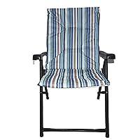 كرسي رحلات و تخييم قابل للطي مع مسند ذراع، بالوان متعددة، Al015/B