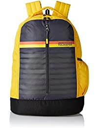 5581d7cdc5 American Tourister 28 Ltrs Yellow Casual Backpack (AMT PING Backpack 01 -  Yellow)