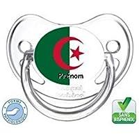 Tétine bébé Algérie et prénom