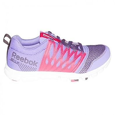 REEBOK Women Yourflex Train RS 5.0 Sneaker Lauf Walking Schuh Mesh pink 39