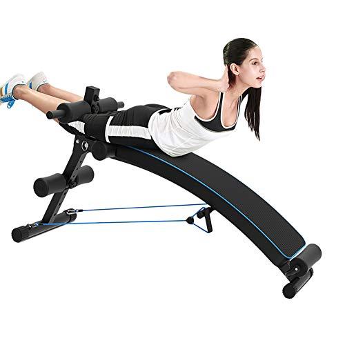 Multifunktions Hantelbänke Unisex Erwachsene Sit Up Bench Adjustable Workout Faltbare Sitzbank, Fitness Utility Equipment Für Home Gym Ab Übungen (Home Gym Equipment Bench)