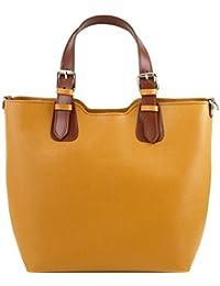 Tuscany Leather TL Bag - Sac à main en cuir Saffiano Sacs à main en cuir