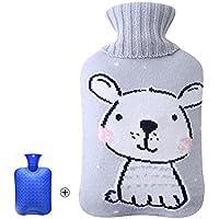 1 Liter Wärmflasche mit Strickbezug - niedliches Kaninchen preisvergleich bei billige-tabletten.eu