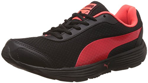 Puma Men's Reef Fashion Dp Puma Black and Red Blast Running Shoes - 10 UK/India (44.5 EU) (36213106)  available at amazon for Rs.2299