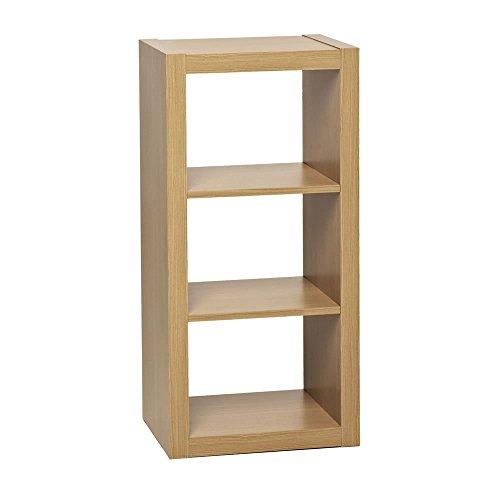 IKEA KALLAX Regal, Bücherregal, Weiß, ideal für Körbe oder Kisten Oslo 3 Tier