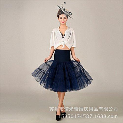 Womens Retro mariage Petticoat Reifrock Unterrock Rockabilly Dress Puff Jupe 16#